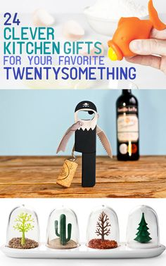 Cool Kitchen Gadgets - 24 Clever Kitchen Gifts For Your Favorite Twentysomething- most of these are really neat Gadgets And Gizmos, Cool Gadgets, Amazon Gadgets, Cool Gifts, Diy Gifts, Tech Gifts, Homemade Gifts, Inspektor Gadget, Little Presents