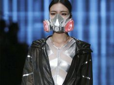 Smog masks as China's latest fashion trend - a disturbing harbinger of our dystopian future