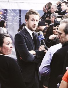 """Ryan Gosling doing press at """"The Place Beyond The Pines"""" NY Premiere [2013]"""