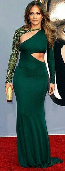 J. Lo and that dress!