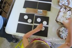 Simple Domino Math for Preschoolers by Teach Preschool