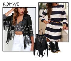 """Romwe I/9"" by minka-989 ❤ liked on Polyvore featuring romwe"
