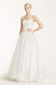 David's Bridal offers all wedding dress & gown styles including mermaid…