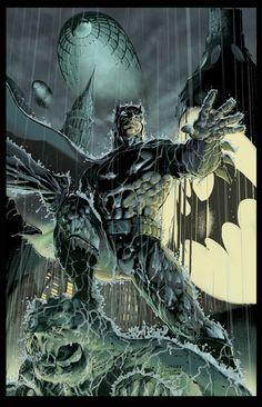 #Batman #Fan #Art. (Batman color test page) By: Marco Ferrari. ÅWESOMENESS!!!™ ÅÅÅ+