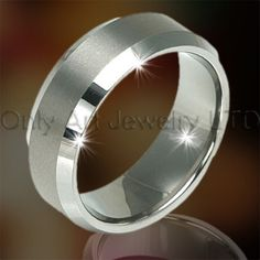 Tungsten Wholesale Rings OAGR0104 Model Number OAGR00104  Jewelry Type Rings   Place of Origin Guangdong, China (Mainland)   Brand Name OA   Rings Type Engagement Bands or Rings   Jewelry Main Material Tungsten