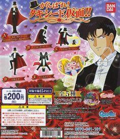 Sailor Moon Tuxedo Mask Pvc Figure ~Hold Out Tuxedo Kamen...