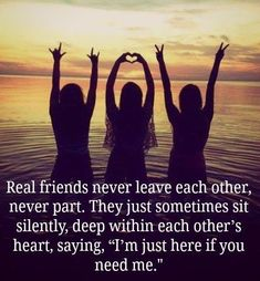 Are you searching for real friends quotes?Check out the post right here for cool real friends quotes ideas. These hilarious quotes will make you enjoy. Three Best Friends Quotes, Besties Quotes, Best Friends Forever, Bffs, Bestfriends, Forever Friends Quotes, Cute Best Friend Quotes, Crazy Friends, Sister Quotes