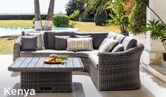 Outdoor Sectional, Sectional Sofa, Outdoor Furniture Sets, Outdoor Decor, Kenya, Patio, Home Decor, Hammocks, Outside Furniture