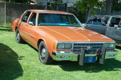 California State Police, unmarked 1984 Chevrolet Impala…