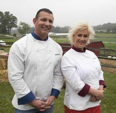 These are my two favorite Food Network Chefs (along with that cutie Michael Simon) They make me want to experiment whenever I cook and they make the all aspects of the culinary experience fun and informative.