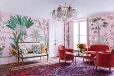 This Wallpaper Collection May Be the Most Beautiful Thing You'll See This Spring