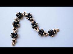 Narrated Crystal Bracelet Making, Swarovski Bracelet, Crystal Bracelets, Pearl Bracelet, Crystal Jewelry, Beaded Necklace, Simple Bracelets, Handmade Bracelets, Handmade Jewelry, Beaded Bracelets Tutorial