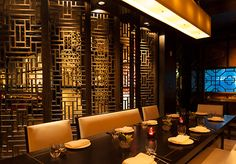 Hakkasan New York by Gilles & Boissier........Hakkasan New York is a luxurious 11,000 square foot venue located in midtown Manhattan at 311 West 43rd Street. The restaurant features modern, authentic Cantonese cuisine, a comprehensive beverage program and impeccable service creating an unparalleled dining experience......Great Dim sum but expensive....