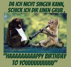 Geburtstagsspruche Lustig Mann Frau Katze Humor Alter Sack Geburtstag