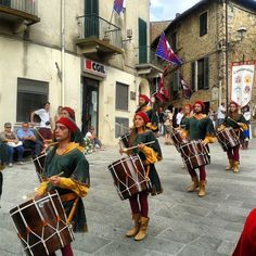 Donkey Palios at the old Campagnatico village in #Maremma #Tuscany. On September.