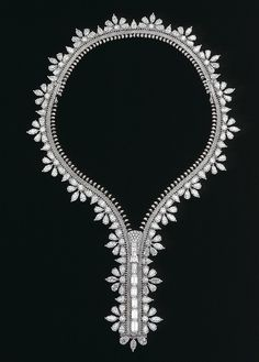 Van Cleef & Arpels - Champs de mars zip necklace by Van Cleef & Arpels...wow