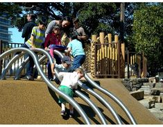 Lafayette Park Playground, Miller Company Landscape Architects, San Francisco California, 2013 | Playscapes