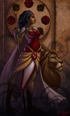 OYA African goddess Oya is a Goddess of Storms. She represents feminine leadership - invoke Oya when you are in need of strength in your quest for leadership and authority. MANTRA *...