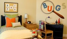 Do you have a little Entomologist on your hands? Here is a fun bug room