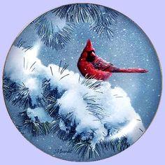 December Dusk - Artist: Susan Bourdet