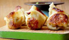 House Vegan.: Homemade Shiitake and Tofu Wontons
