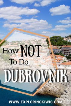 Our recent trip to Dubrovnik wasn't quite what we expected; we fell in love with the city itself but we encountered a few unexpected challenges during our time in the walled city. So you don'tmake the mistakes we did, we've put together the following guide for you. Here we go… Don't visit Dubrovnik during August if you can avoid it. You'll spend most of your day battling crowds of tourists which isn't much fun at the best of times, especially in the summer heat and in such close…