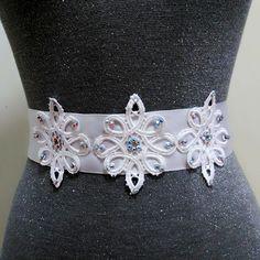 Rhinestone lace bridal sash belt, Bridal belt, Wedding dress belt , Rhinestone belt, Crystal belt, beaded belt, bling belt, Wedding sash by MagicSashAccessories on Etsy