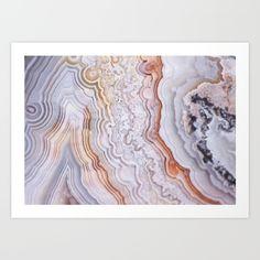 agate photography, mineral photography, crazy lace, orange, cream, grey, mineral decor, agate decor
