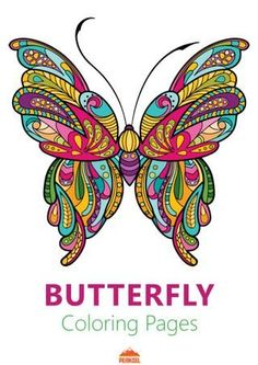 This adult coloring book with beautiful butterfly pictures to color is very easy to use. Multiple color palettes and a personal gallery of your own works, along with calming, relaxing background music, make this anti stress coloring book for adults a. Butterfly Pictures To Color, Beautiful Butterfly Pictures, Beautiful Butterflies, Owl Coloring Pages, Butterfly Coloring Page, Mandala Coloring, Coloring Worksheets, Printable Coloring, Coloring Sheets