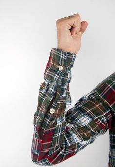 flannel patchwork? looks affordable.