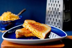 The trick to great grilled cheese sandwiches isn't in the ingredients, but on the stove Achieving a golden, crusty outside and oozy inside takes a little patience: if the heat is too high, the outside will scorch before the cheese melts Cooking the slices separately at first gives the cheese a good head start