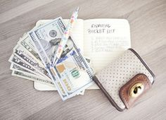 Set money aside little by little for something special in the future.