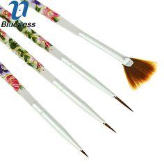 Blueness 4 Pcs/Set Manicure Brush Dotting Pen Painting Drawing Beauty Salon Kits  For Nail Art Tool JH364