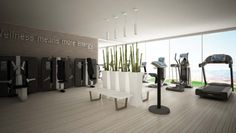 TECHNOGYM | fitness center featuring kinesis stations