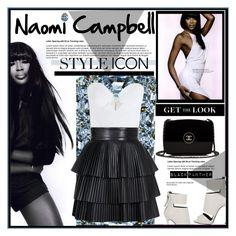 """""""Naomi Campbell"""" by meylimayli ❤ liked on Polyvore featuring Chanel, Giuseppe Zanotti, Zimmermann and Balmain"""