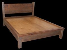 10 reclaimed barn wood beds that were practically free to build