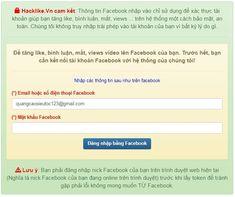 cách hack like facebook đơn giản Like Facebook, Facebook Likes, Hacks, Train, Tips