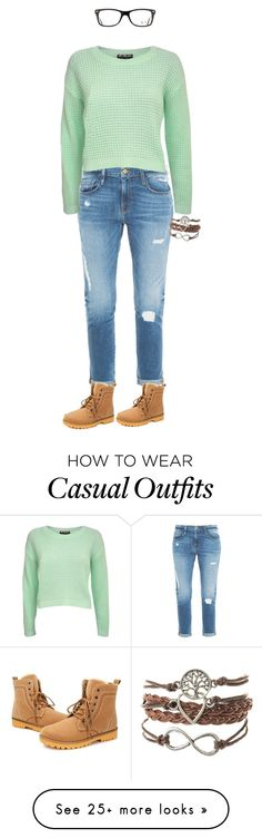 """""""Casual Chic"""" by lusciouscyan on Polyvore featuring Frame Denim, Pilot and Ray-Ban"""
