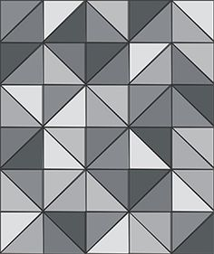 6 Triangle Tile Patchwork