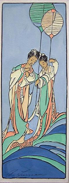 Woodblock prints (Estampes) :: Sea Goddesses