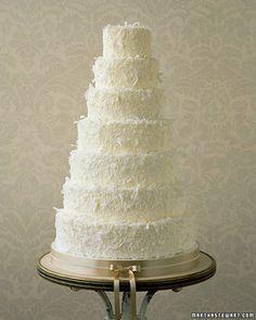 Coconut Wedding Cakes