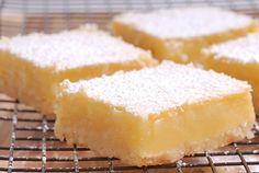Cuadraditos de Limón Lemon Bars Te enseñamos a cocinar recetas fáciles cómo la receta de Cuadraditos de Limón Lemon Bars y muchas otras recetas de cocina..