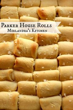 Traditional Parker House Rolls are easier that you might think and have a wonderful buttery flavor with just a hint of sweetness. They can be made in advance and baked right before dinner.  It is a perfect recipe for any turkey dinner because the turkey n