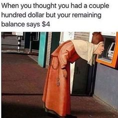 List of Hilarious memes about spending money! #LOL #Memes #Funny