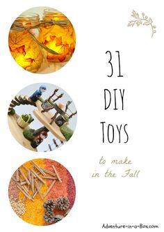DIY Toys to Make in the Fall: Autumn Projects to Keep Parents Busy and Children Occupied