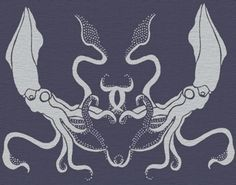 STENCIL for Walls - Giant SQUID - Large, Reusable Stencil for Walls - Durable DIY Home Decor. $44.95, via Etsy.
