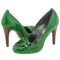 Green Guess shoes