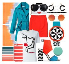 """""""that summer feeling"""" by arta ❤ liked on Polyvore featuring Jaeger, Kat Maconie, New York & Company, Armani Beauty, J.Crew, Dsquared2, Alice + Olivia and Jin Soon"""