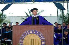Stephen Colbert at Northwestern, 2011