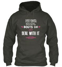 Big Girl Boots Hoodie!